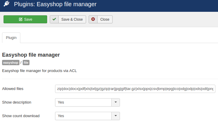 Config file manager